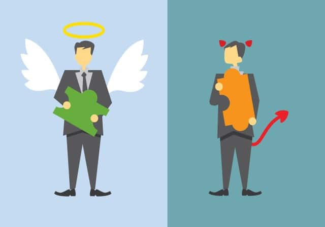 difference between good and bad broker