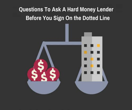 questions to ask a hard money lender