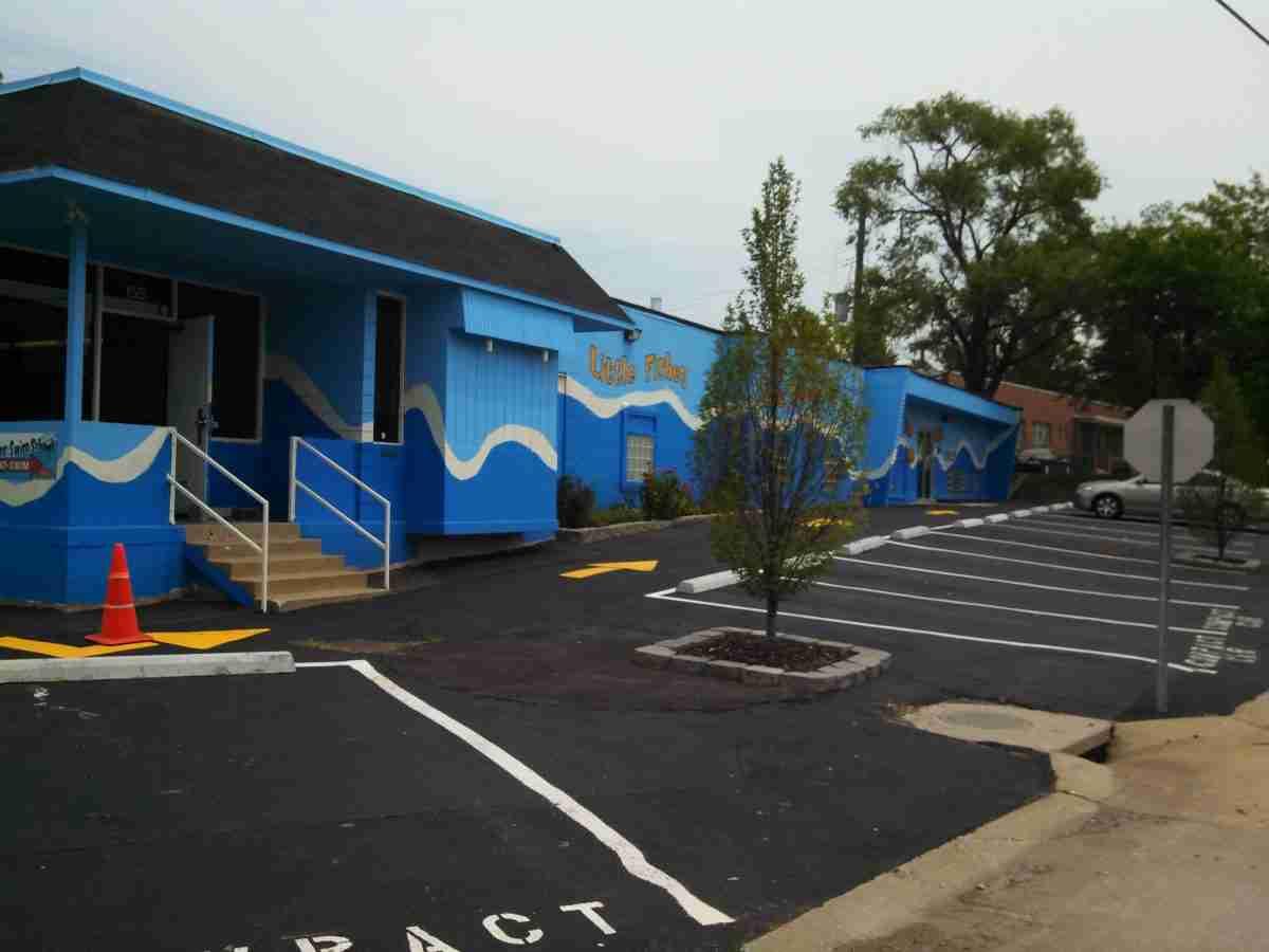 Just sold little fishes swim school st louis mo for Little fish swim school