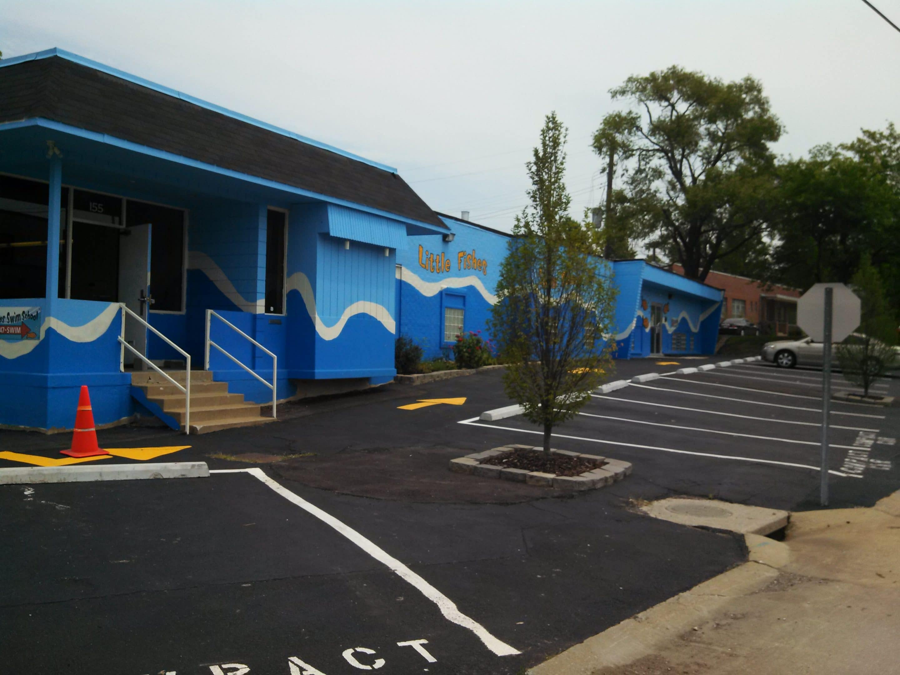 Just sold little fishes swim school st louis mo for Little fishes swim school