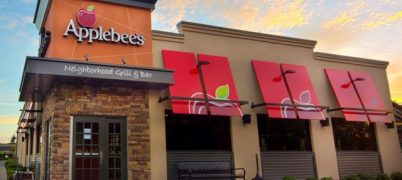Applebees commercial real estate property