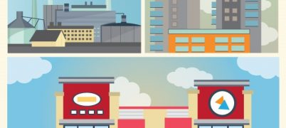 retail properties vs. apartment buildings vs. industrial