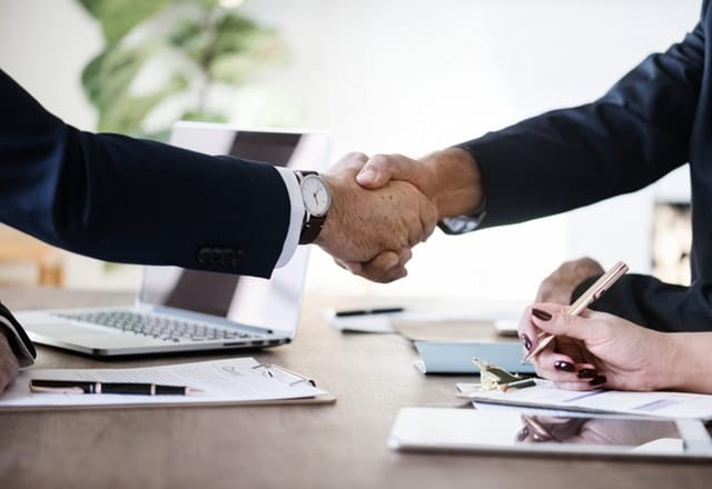 successfully reached agreement between two partners
