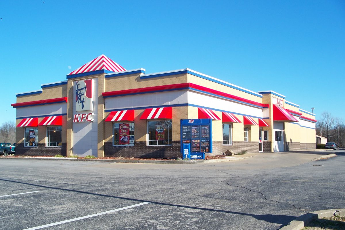 KFC building in Kentucky