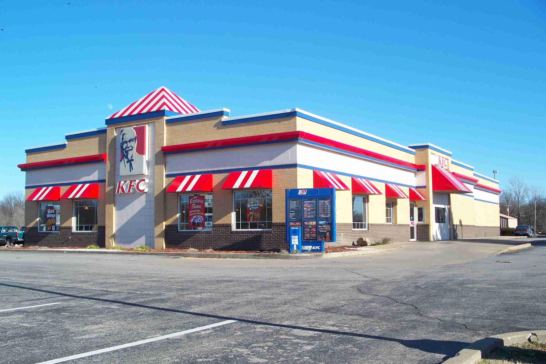 KFC building in Kentucky