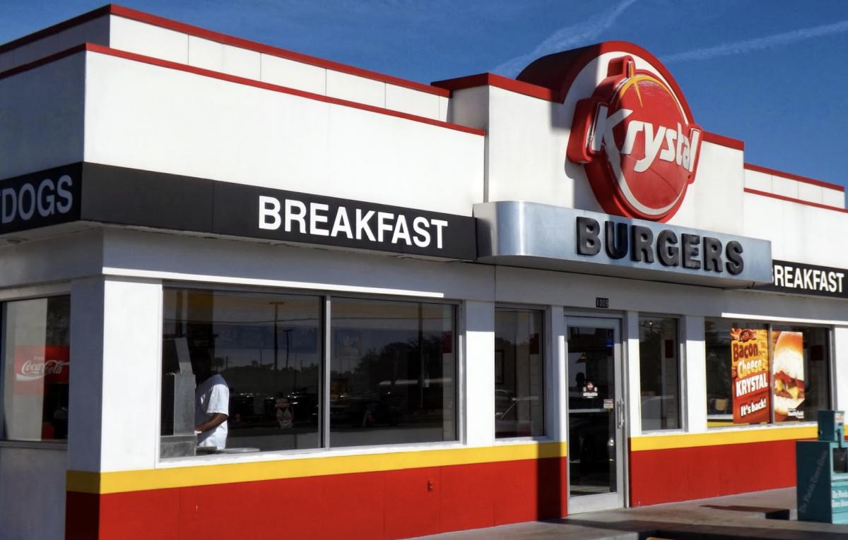 photo of krystal burgers