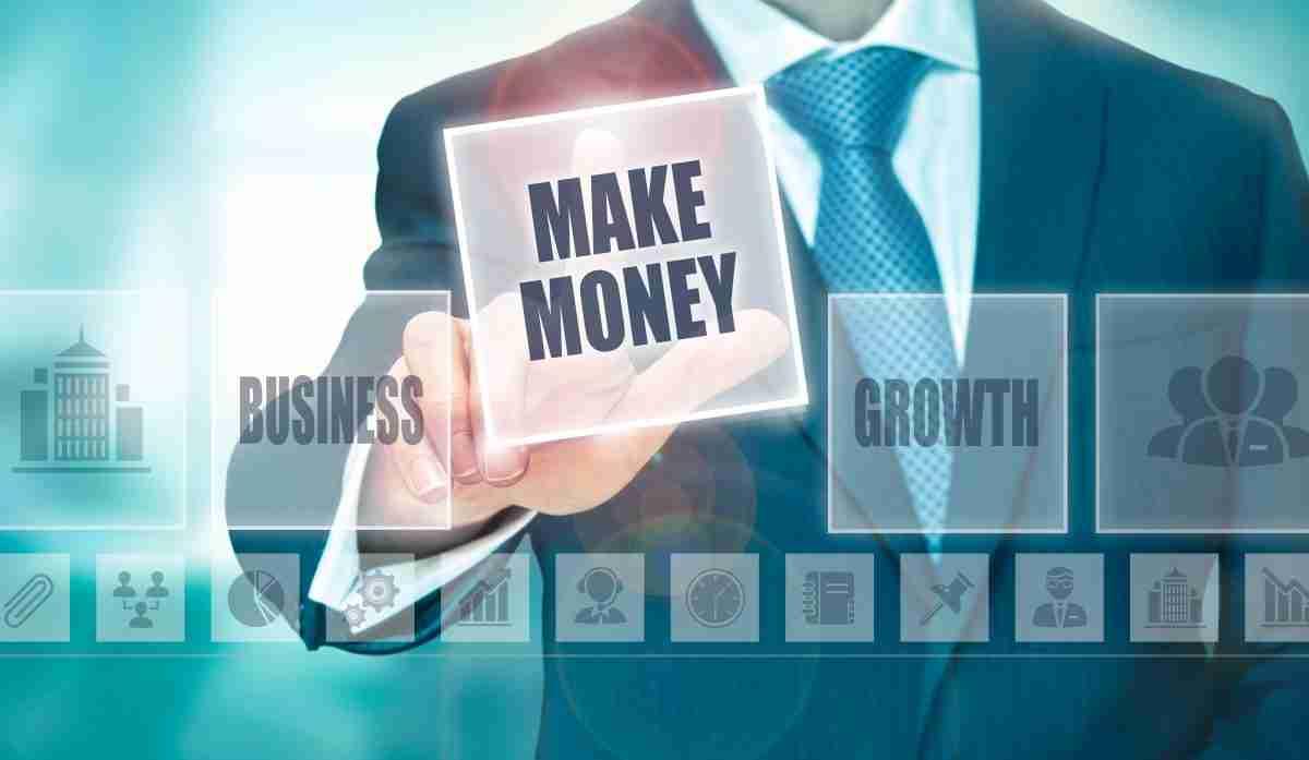 Business Make Money Concept